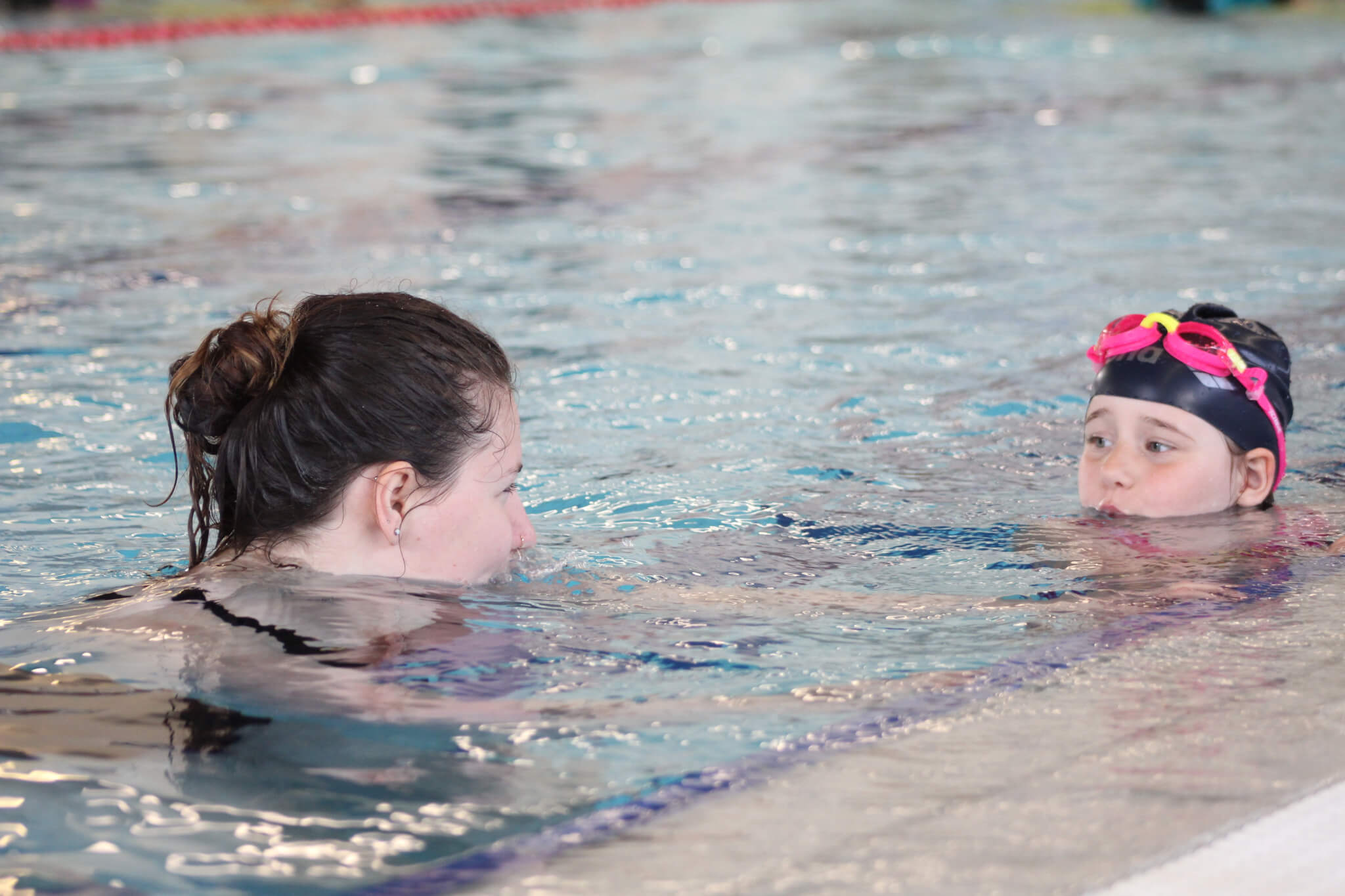 Svømmekurs barn bøler