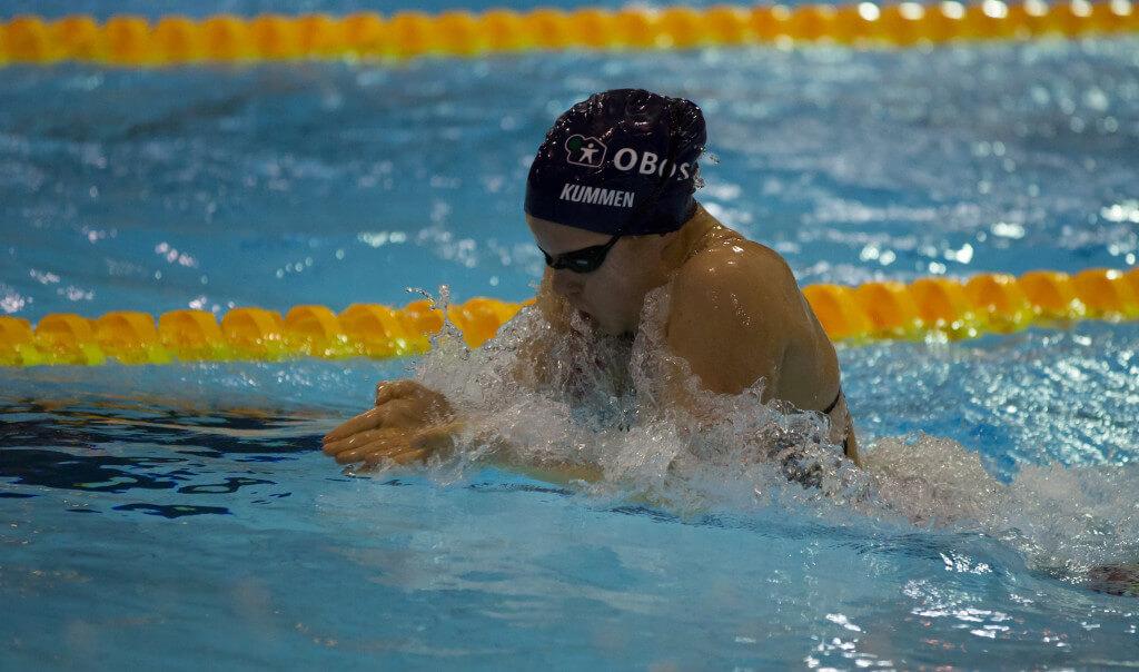 Eva Kummen fortsetter sin flotte fremgang på brystsvømming