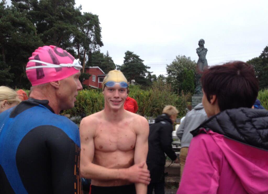 Team Gjøg hadde all grunn til å være fornøyd med årets plassering, og med ny rekord av Frederik var det ingen tvil om hvem som var best i familien denne gangen...