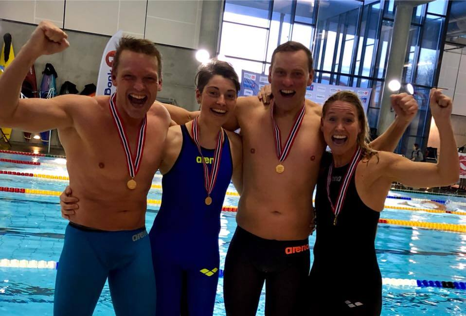 Masters NM med ny Europarekord