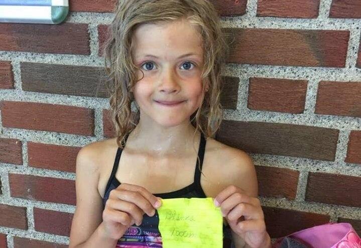 Herlig innsats av svømmeskolebarna våre