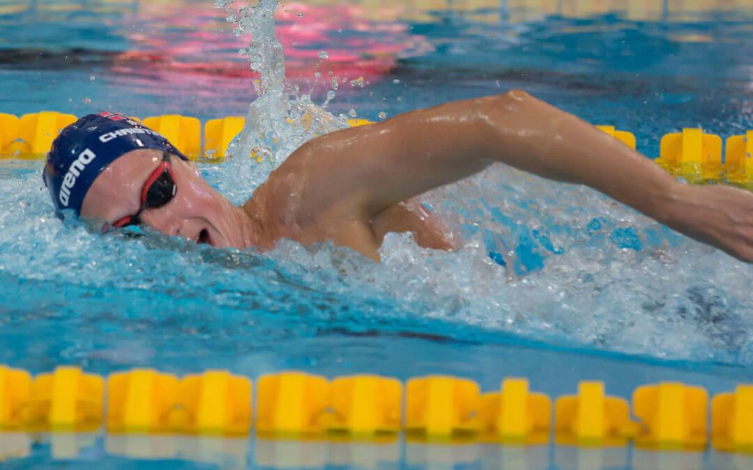 Henrik Christiansen blir Lambertseter svømmer