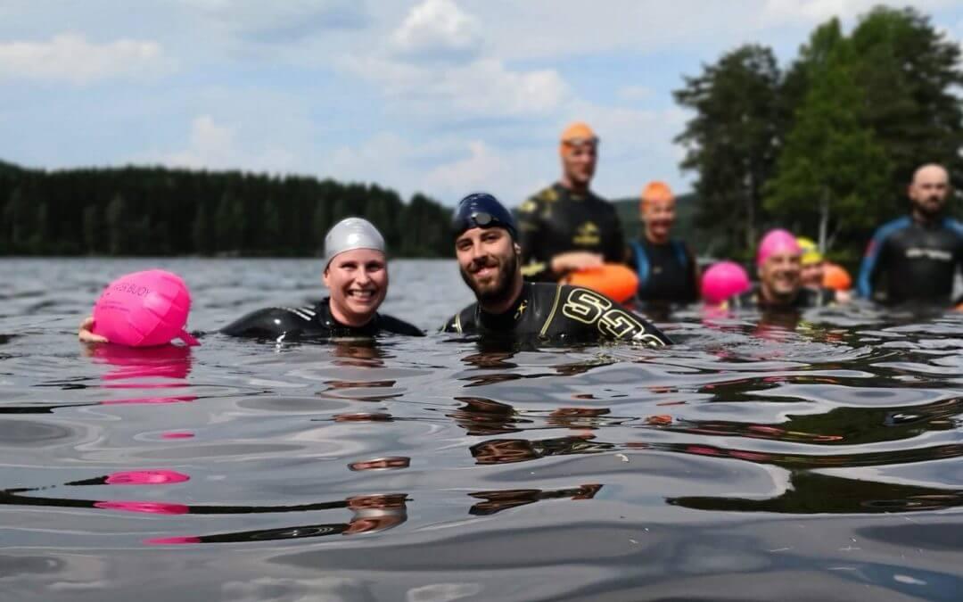 Takker Sparebankstiftelsen DNB for støtte til utesvømming