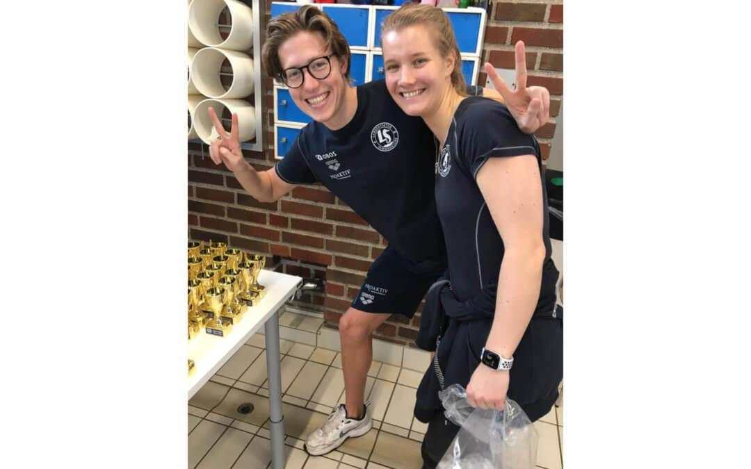 OL-svømmer på besøk under Lambertseter Rekrutt