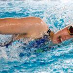 Frisk svømming på Lambertseter Open
